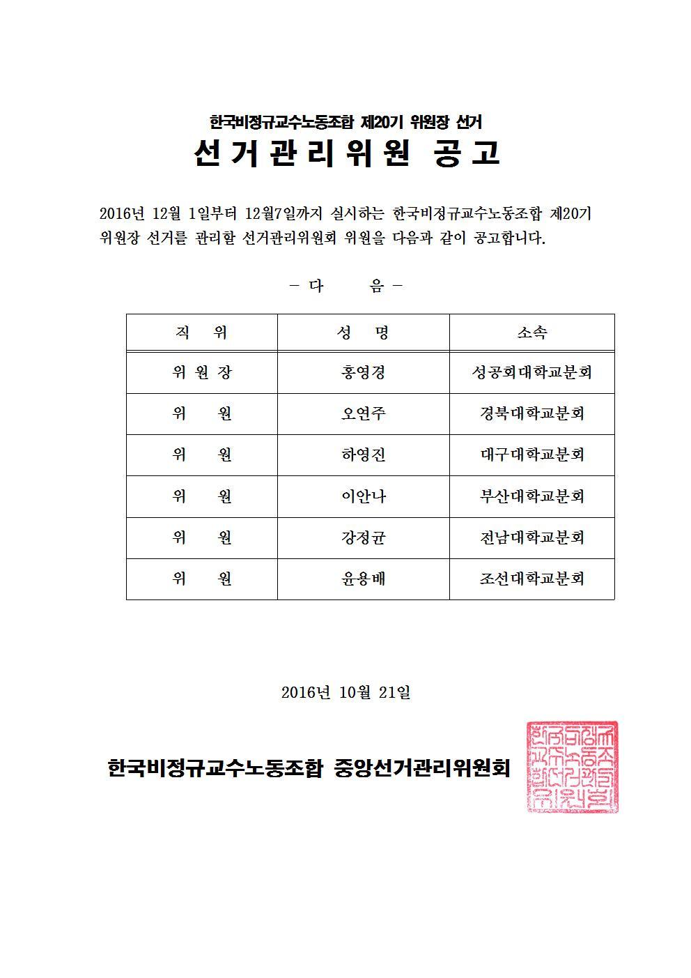 한국비정규교수노동조합 제20기 위원장 선거 jpg002.jpg